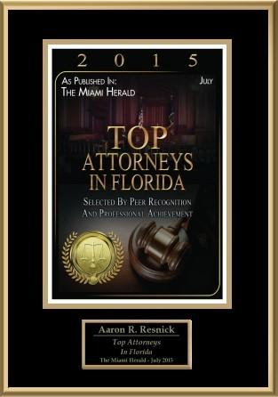 Lawyer Aaron Resnick - Miami, FL Attorney - Avvo