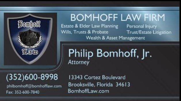 Lawyer Philip Bomhoff Brooksville Fl Attorney Avvo