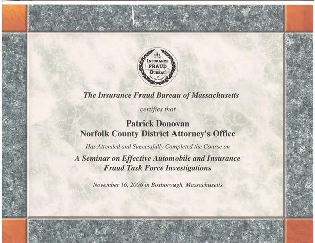 lawyer patrick donovan - quincy  ma attorney
