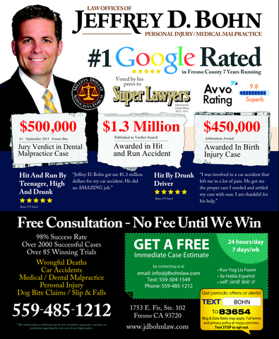 Lawyer Jeffrey Bohn - Fresno, CA Attorney - Avvo