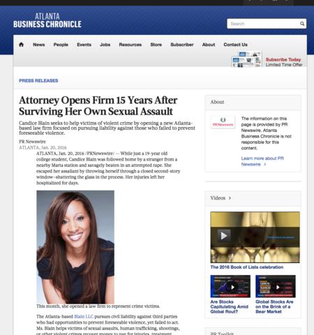 Lawyer Candice Blain - Atlanta, GA Attorney 30305 - Avvo