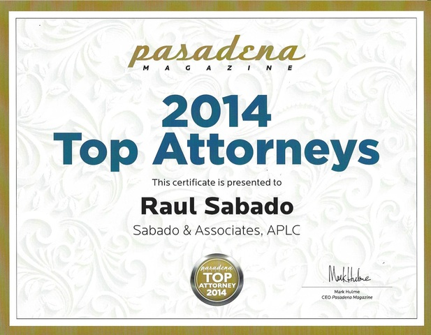 Lawyer Raul Sabado - Claremont, CA Attorney - Avvo