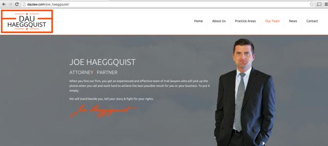 Lawyer Joseph Haeggquist - San Antonio, TX Attorney - Avvo
