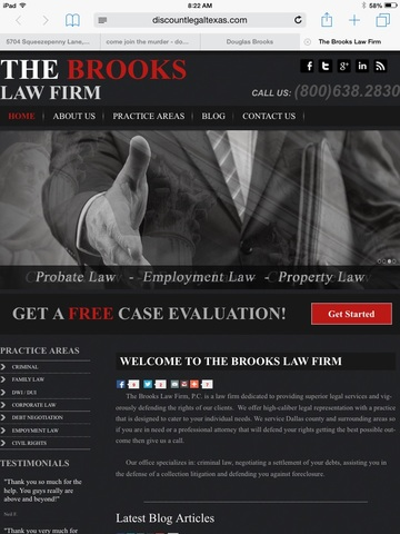 Lawyer Douglas Brooks Dallas Tx Attorney Avvo