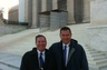 Mitchell and John at the US Supreme Court.