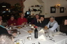 Our dinner in Mansfield Ohio with John Fusco, owner of NPAS, the company that makes DataMaster (John is w/ glasses at right) and Dave Radomsky (next to John).  Many of the Nation's top DUI lawyers were there, including William Head and Linda Callahan.