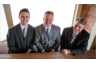 The attorneys and members of Morefield Speicher Bachman, LC: Andrew Speicher, Stan Bachman and Rick Morefield.