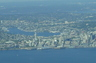 View of Seattle from my Cessna 172