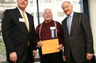 PREOVOLOS AWARD - Alan receives outstanding services award April 24, 2006 presented by San Francisco Presiding Judge Robert J. Dondero (left) and California Chief Justice Ron George.