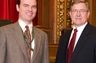 Attorney Chris Till and Ohio Supreme Court Justice Robert Cupp