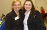 Here I am with a group of amazing lawyers at the Association of Women Attorney's 2011 annual Student Reception.