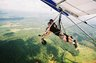 Hang Gliding with Instructor at Lookout Mountain Flight Park in Chattanooga, Tennessee.  June 2010.
