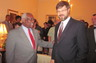Alex with United States Supreme Court Justice Clarence Thomas - May 2012