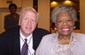 Mr. Head with internationally acclaimed poet, author, inspirational speaker and world-renown icon, Dr. Maya Angelou at the Legal Marketing Association Conference, Atlanta, GA in March of 2007. Dr. Angelou is one of America's true national treasures.