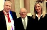 Legendary Trial Lawyer F. Lee Bailey with Mr. Head and his wife, Kristen Campbell Head