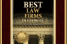 Law firm again obtains top accolade (Tier 1) Best Law Firms in Georgia. 2014.