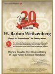 William Barton Weitzenberg