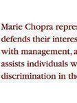 Marie Chopra