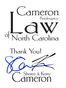 North Carolina  Lawyer Sheree Cameron
