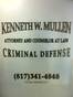 Fort Worth Juvenile Law Attorney Kenneth W. Mullen
