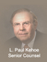 Monroe County Mediation Attorney Leo Paul Kehoe