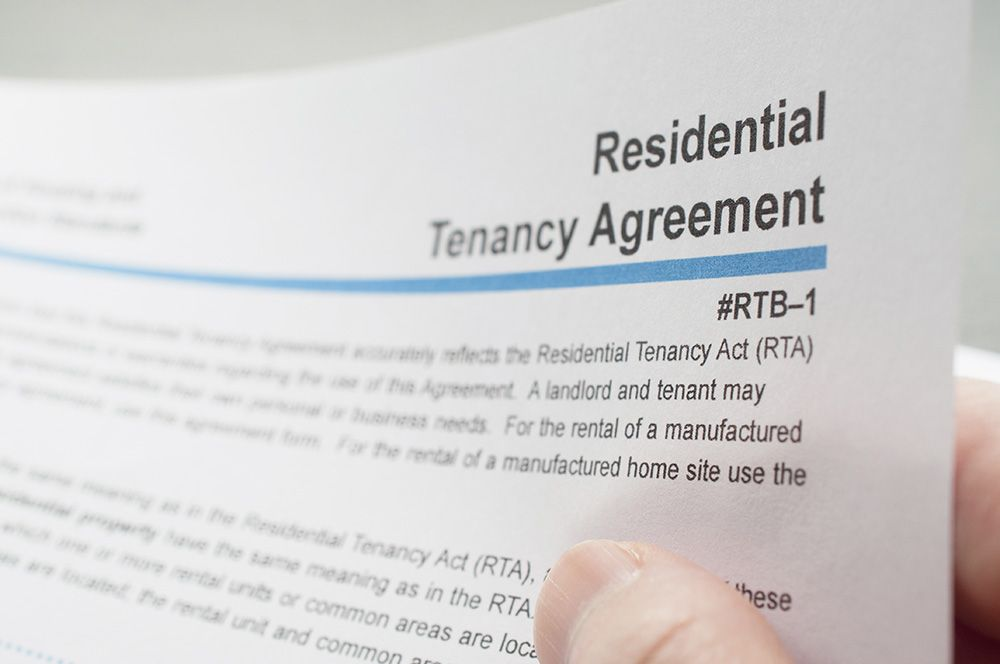 Lease Agreements For Renting - Avvo